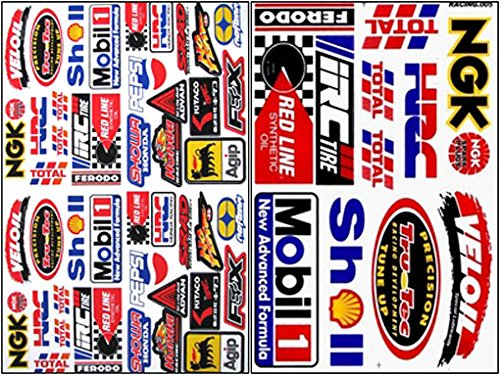2x rc 15 110 decals nitro gas car trucks boat racing sticker sheets rc 205 buy online in kuwait rc decal products in kuwait see prices
