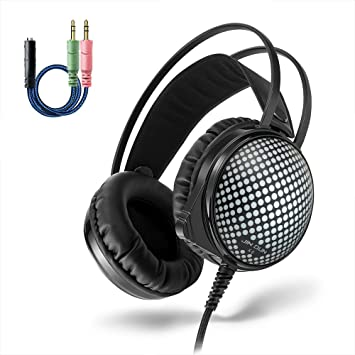 multifun Auriculares Gaming Cascos con Micrófono para PC Portátil / MAC / PS4 / XBOX ONE