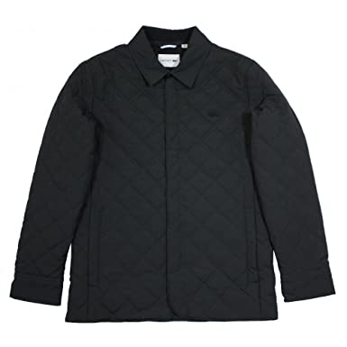 f9971121d Lacoste Quilted Jacket 46R  Amazon.co.uk  Clothing