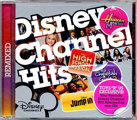Disney Channel Hits Music CD [Includes Songs from High School Musical, Hannah Montana, Cheetah Girls & Jump -