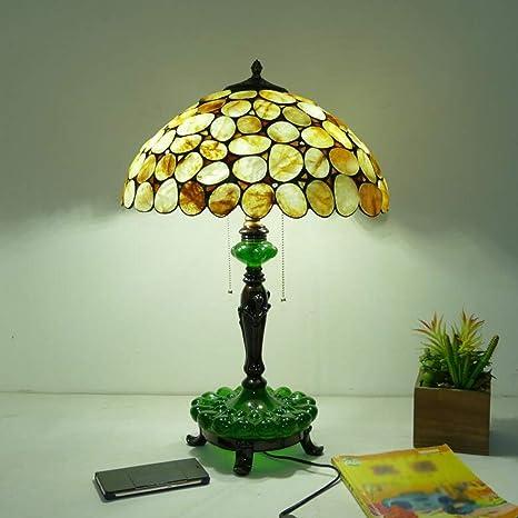SMBYLL Lámpara de Escritorio adoquinada Lámpara de Mesa de ...