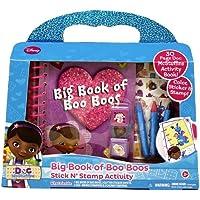 Tara Toys Doc McStuffins Big Book of Boo Boo's Libro de Actividades de Doctora Juguetes