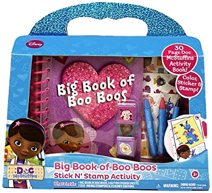 Amazon com: Tara Toy Doc McStuffins Big Book of Boo Boo's