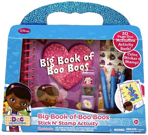 Tara Toy Doc Mcstuffins Big Book Of Boo Boo's 2
