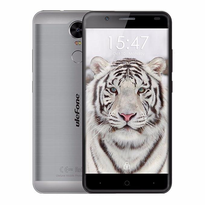 Ulefone Tiger 4 G LTE Práctico 5.5 pulgadas sin Contrato Android ...