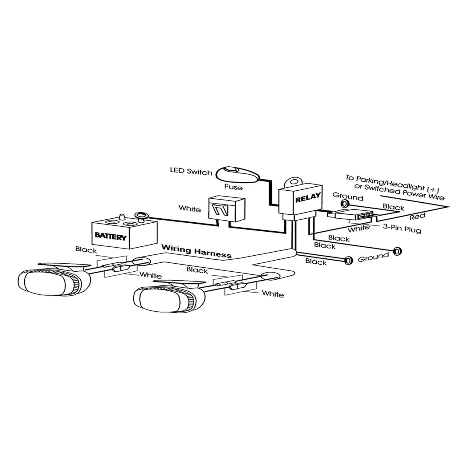 61HNbyyO7kL._SL1500_ amazon com anzousa 851062 lighting component automotive anzo wiring harness diagram at alyssarenee.co