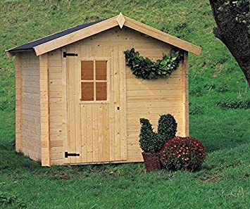 Gartenpro - Caseta para jardín, modelo Cinzia de 180 x 220 cm: Amazon.es: Jardín