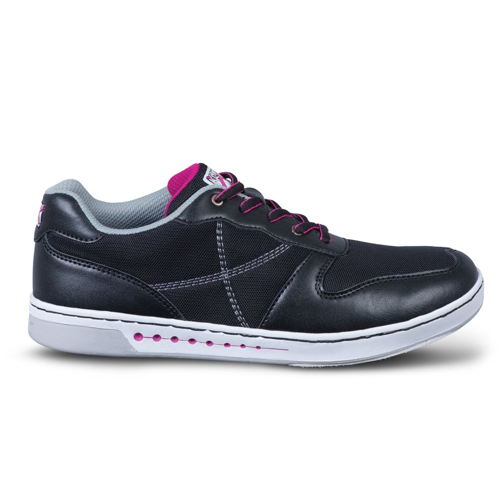 KR Strikeforce Women's Opal Bowling Shoes, Black/Hot Pink, Size 6