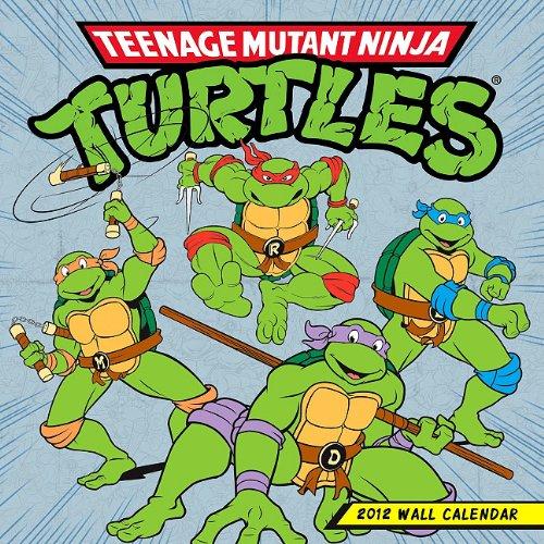 Teenage Mutant Ninja Turtles Wall Calendar: Amazon.es ...