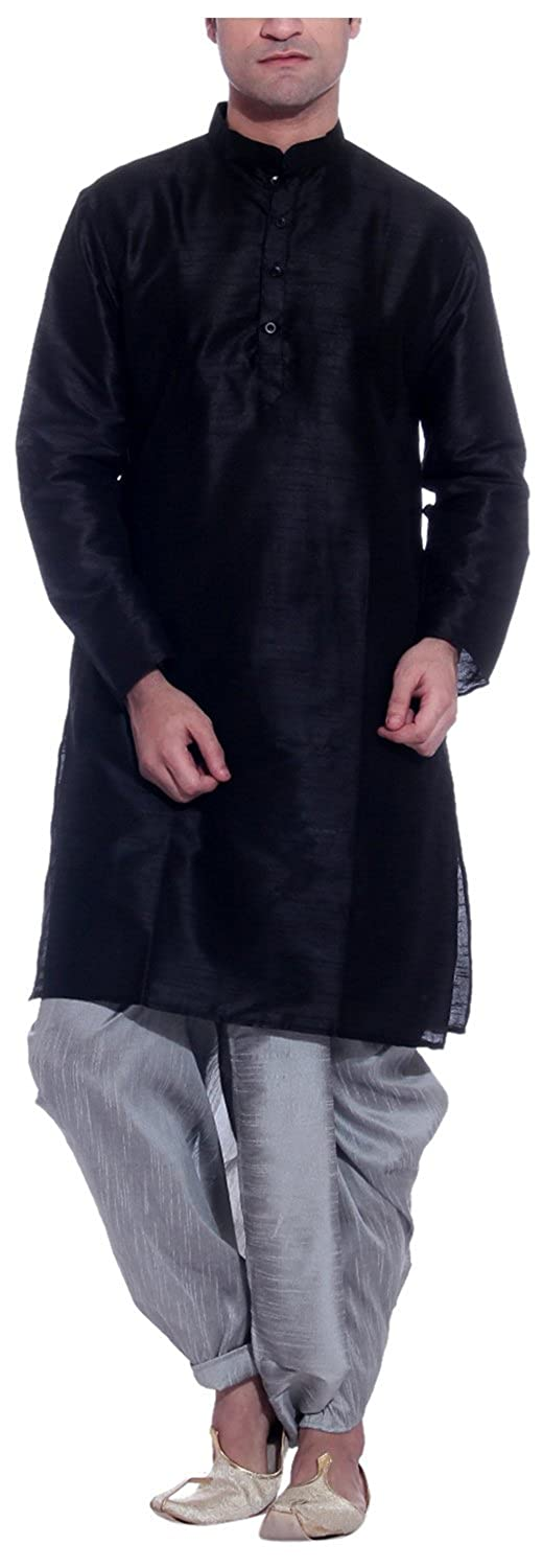 Tag 7 Men's Threadsart Silk Dhoti Kurta Royal ns-kd-38-$P
