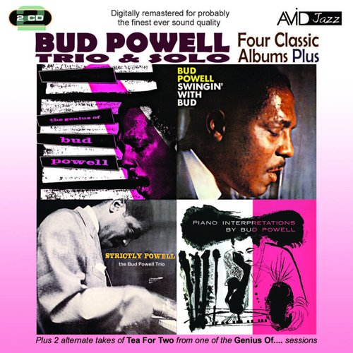 BUD POWELL / POWELL - FOUR CLASSIC ALBUMS PLUS