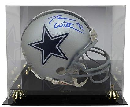 new style 8fa0e 30918 Jason Witten Autographed Signed Dallas Cowboys Mini Helmet ...
