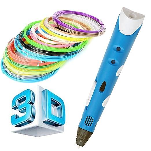 Conjunto de pluma 3D, pluma de impresora 3D, pluma de impresión 3D ...