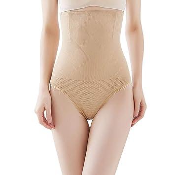 0e01f46ca47 High Waist Cincher Trainer Panties Body Shaper Underwear Tummy Control  Thong Shapewear Girdles Slimmer Seamless (