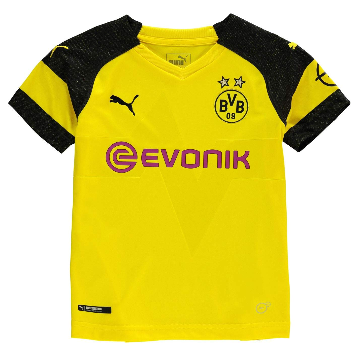 Puma BVB Home Shirt Replica Jr Gelb - 140