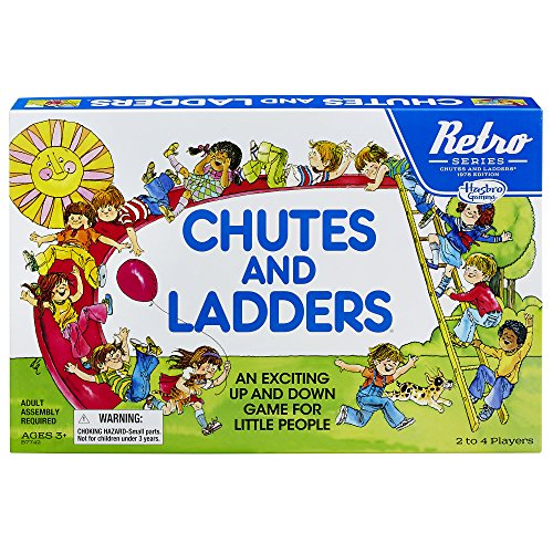 Chutes and Ladders Game: Retro...