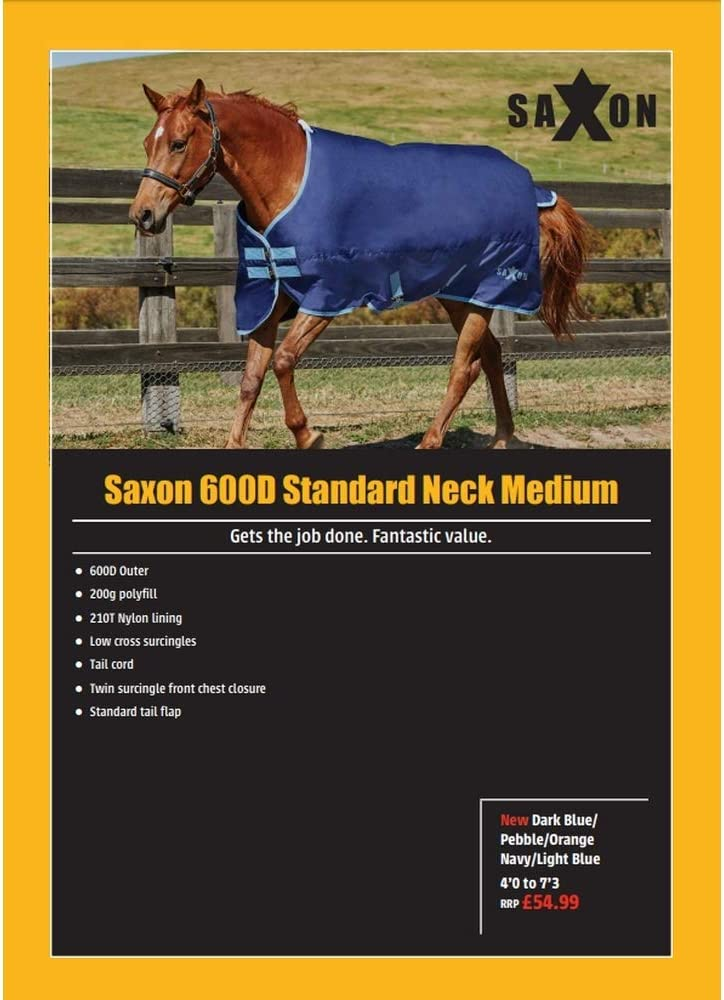 Saxon 600D Standard Neck Medium