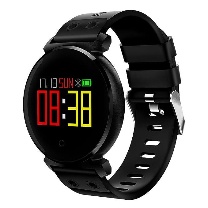 Rcool Relojes suizos relojes de lujo Relojes de pulsera Relojes para mujer Relojes para hombre Relojes deportivos,Bluetooth Smart Watch IP68 a prueba de ...