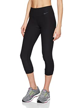4863c46034712 Nike Leggings Tight Women's Power Legend Crop: Amazon.co.uk: Sports ...