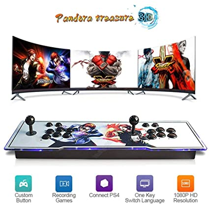 Amazon.com: HIOTECH Consola de videojuegos de arcade de ...
