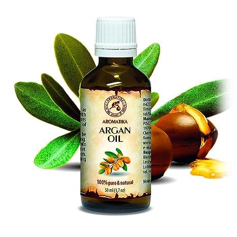 Argan Aceite 50ml - Argania Spinosa - Marruecos - Botella de Cristal - Cuidado para Сabello
