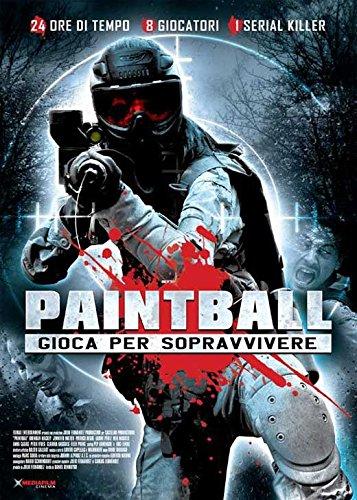 Paintball Placard Movie (2009) Italian Style A 27 x 40 Inches - 69cm x 102cm (Jennifer Matter)(Patrick Regis)(Brendan Mackey)(Iaione Perez)(Neil Maskell)(Anna Casas)(Peter Vives Newey)