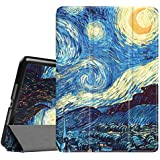 Fintie iPad Air 2 Case - [SlimShell] Ultra Lightweight Stand Smart Protective Cover with Auto Sleep/Wake Feature for Apple iPad Air 2, Starry Night