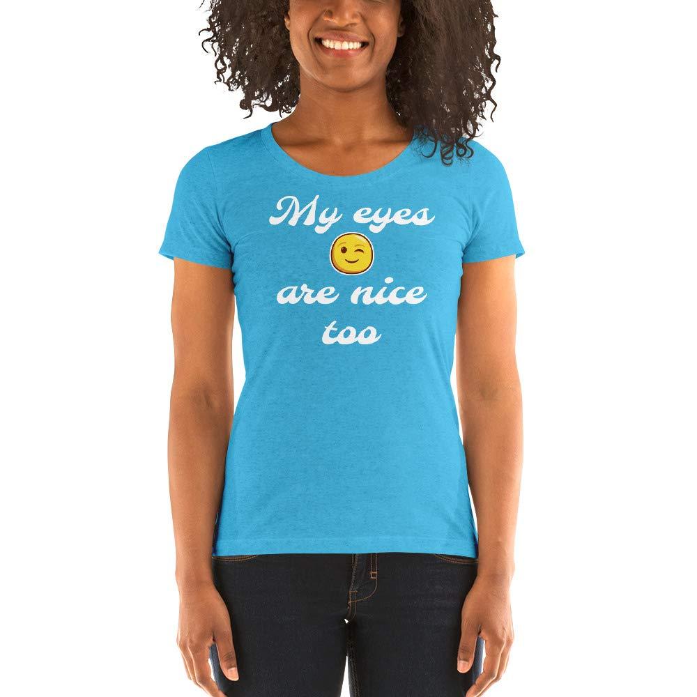 Aqua Triblend Jacked Co. Ladies' Short Sleeve tShirt