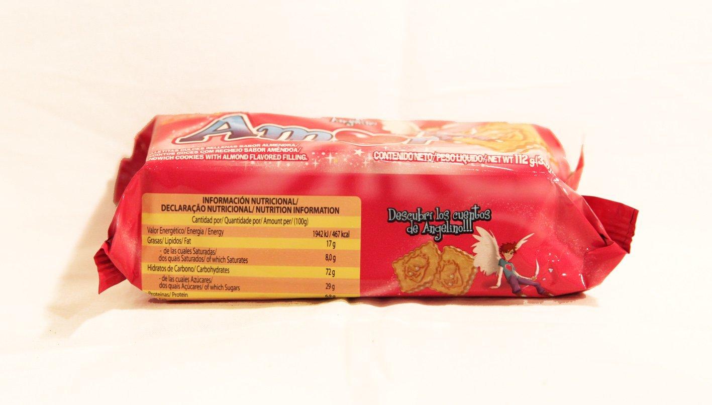 Galletitas AMOR de BAGLEY. Galletitas Dulces rellenas sabor a almendras.: Amazon.es: Alimentación y bebidas