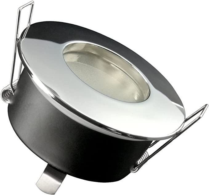 230V GU10 Bad Dusche Einbauleuchte Einbaustrahler AQUA IP65 LED A 5W Ohne Trafo