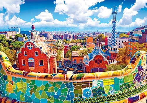 LPF Kodak Premium Puzzles: Park Guell, Barcelona, Spain 1500 pc Jigsaw - Jigsaw Premium