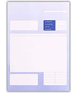 ON LASER PAPER A4 210 x 297mm 063921 100 SAGE COMPATIBLE PAYSLIPS SGE040 SE80 SE80S and DUKSA008 50 x A4 Sheets = 100 Total
