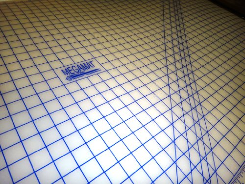 Sewfit Translucent Cutting Mat Megamat 40'' X 36'' by QUILTERS RULE