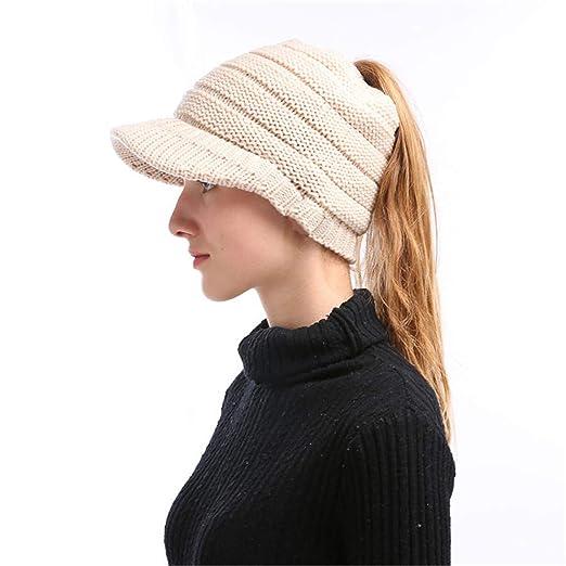 d9b96a156c4 Snow Hats for Women Newest Hot Men Women Knit Oversize Baggy Slouchy Beanie  Warm Winter Hat