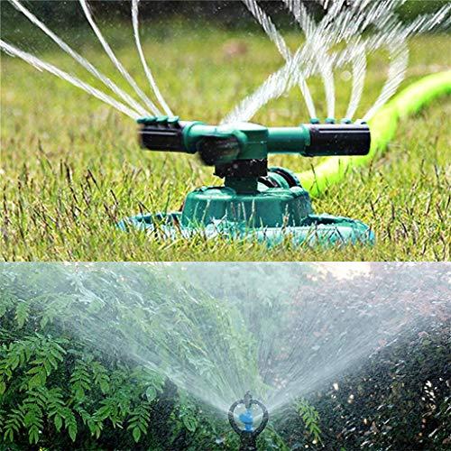 MSOO Lawn Sprinkler Garden Sprinkler Head Automatic Water Sprinklers 360°Rotation
