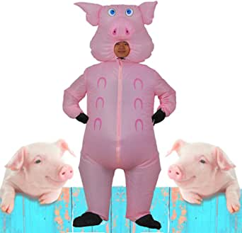 Wild Cheers Inflatable Costume Adult, Fancy Dress, Blow Up Costume Suitable for Party, Halloween, Christmas