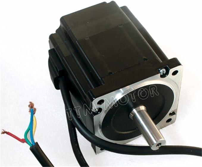 NEMA34 4,5 N.M motor servo motor paso a paso de ciclo cerrado 82 mm 6 A 2 Fase & hss86 híbrida Servo controlador controlador CNC Kit para grabado con CNC fresado máquina: