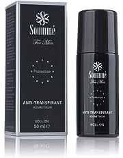 Soummé Antitranspirant Protection Roll-On for Men Kosmetikum [50 ml] | Schützt vor Schweiß- und Geruchsbildung, verschiedene Pflegestoffe [Die Höhle der Löwen]