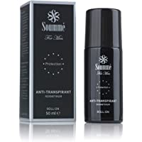 Soummé Antitranspirant Protection Roll-On for Men Kosmetikum [50 ml] | Schützt vor Schweiß- und Geruchsbildung, verschiedene Pflegestoffe [Die Höhle der Löwen]