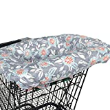 Balboa Baby Shopping Cart & High Chair Cover - Grey Dahlia