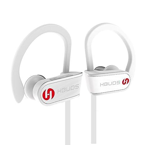 Cuffie Bluetooth Senza Fili 4.1 Auricolari Bluetooth Wireless Sport Hbuds  H1 con Microfono Stereo e Impermeabile cb27f1ba69f3