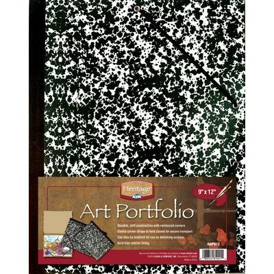 Art Portfolio Size: 11 H x 14 W by Alvin and Co.