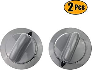 WE1M964 Timer Control Knob with Reinforced Metal Ring for GE Dryer AP4980845 PS3487132-2 Pack