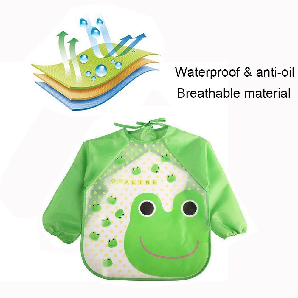 Amazon.com: echodo 4 paquetes impermeable de los niños arte ...