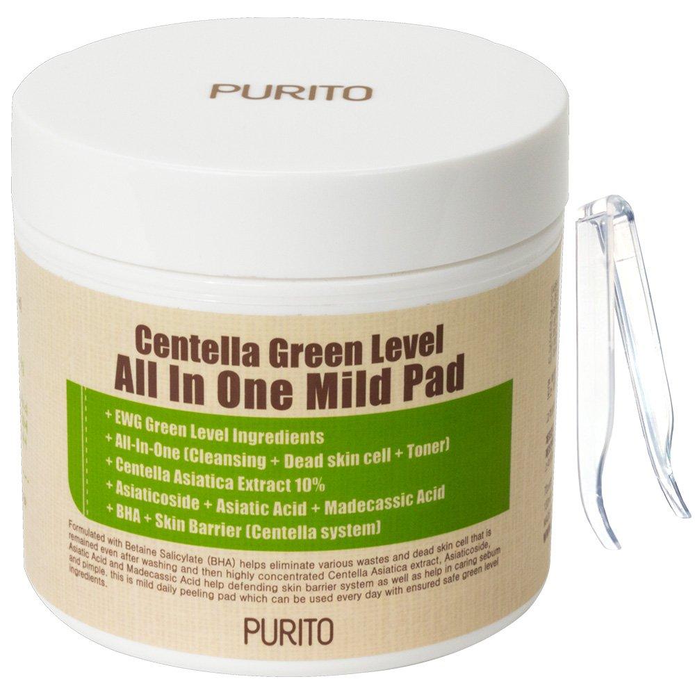 PURITO Centella Green Level All IN One Mild Pad 130ml / 70pads TAENAM