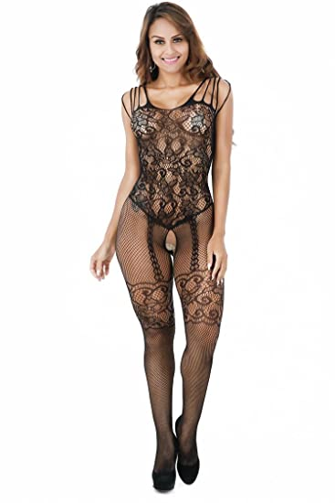 bb450befc83 Amazon.com  FAVOLOOK Sexy Lingerie Bodystocking Crotchless