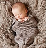 Creative Mother Christmas Cocoon Sleeping Bag for Newborn Boy Girl Cotton Knitted Crochet