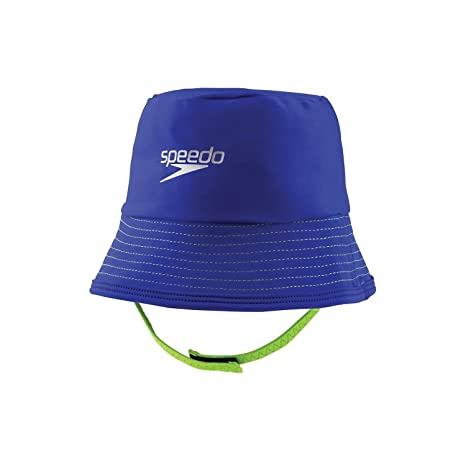 737c300361e Image Unavailable. Image not available for. Color  Speedo Kids Block The  Burn Uv Protection Bucket Hat ...