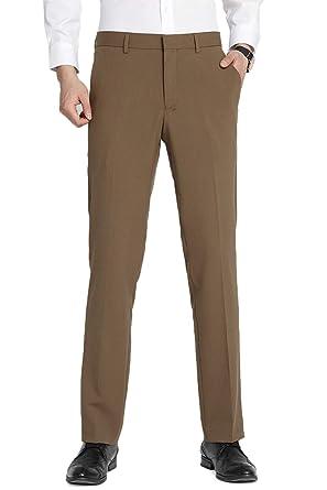 TALITARE Pantalones de Traje Hombre, Slim Fit, Pantalones de Esmoquin Elástico y Elegante