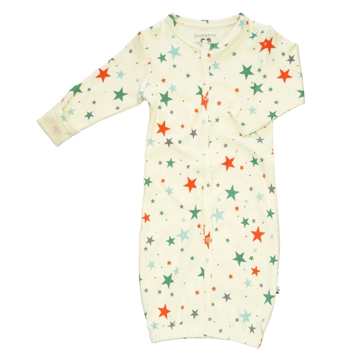 Babysoy Star Pattern Gown//Bundler